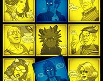 DKaotic Instagram Question Mark Comics Grid Poster