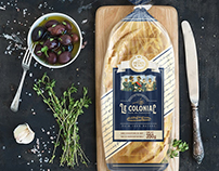 France hand made bread packaging design