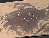 Harry Potter Lettering Sketchbook for British Library