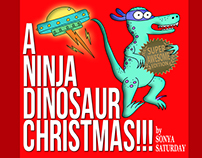 A Ninja Dinosaur Christmas!!! Super Awesome Edition
