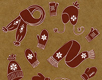 winter & holiday cards and gift wrap