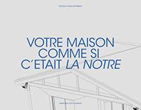 Demeure Côte d'Argent — Site web