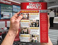 Stanley Magazine cover design