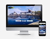 South African Tourism | Concept Web and mobile campaign