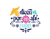 """CD """"Dicen por ahí"""" ZABDIEL"""