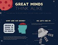 NASA Orion Infographic
