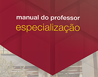 Manual do professor de especialização