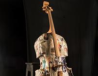 Cello - Papel e madeira de demolição