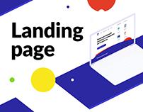 Colorlux- Web Design | Landing page