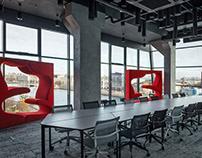 Офис для международного разработчика программных решени