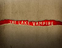 """""""El Vampiro del Lago"""" film poster design"""