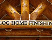 Log Home Finishing Colorado
