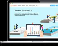 Conteneo website
