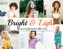 Bright & Light Lr Template