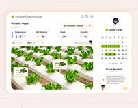 Indoor Greenhouse Dashboard - Smart Garden