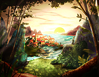 Village in the Sunset: Visual Development