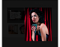 JENN CHAVEZ-WARD WEBSITE DESIGN