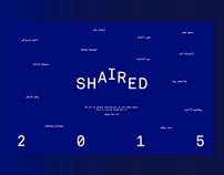 SHAIRED Calendar 2015