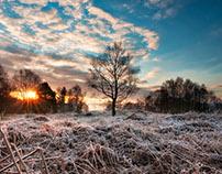 Sunrise in Harden