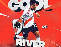 "River Plate - Social Media ""Goals"" New Season"