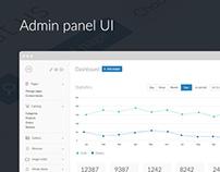 Mindy – admin panel UI