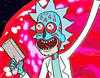 Consume & Obey - Rick and Morty - They Live