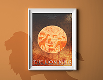 The Lion King | Minimalistic Illustration Poster