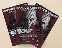 Irregular Synth Event Flyers