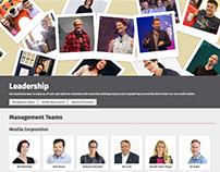 Mozilla Leadership Page