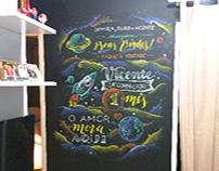 Chalkboard: 1 mês de Vicente