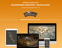 Wanderers Brewery Website on Behance