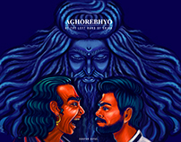 Aghorebhyo by Darpan Goyal - bookcover design