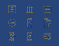 Financial Tecnology LineIcons