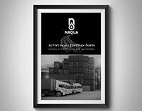 Naqla Rebranding wall pic frames