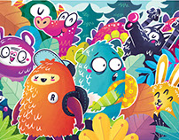 Colorfull Monsters