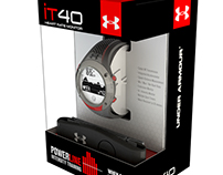 UNDER ARMOUR | POWERline packaging concept
