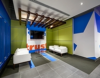 Texas Trust Credit Union Interiors