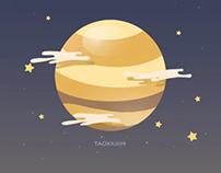 金星上会下硫酸雨,脑补一下那是什么感觉,哈哈哈(vv)