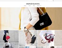 SOPHIEHANDBAGS - handmade handbags ecommerce