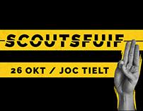 Scoutsfuif branding