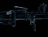 ▼▲ Once In A While Renders № 43 Alien M56 Smartgun