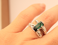 "ENGAGEMENT RING: ""Sirena"". (Mermaid) Jan. 2015"