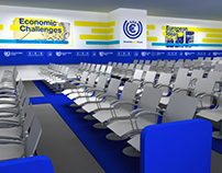 Event design: Economic Ideas Forum 2010, 11, 12, & 13