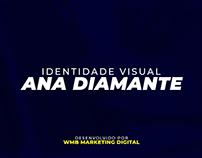 Projeto de Identidade Visual Ana Diamante