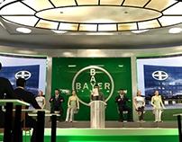 Diseño de escenario Congreso Bayer Brasil