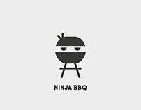 Ninja BBQ - Logo Concept