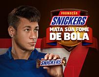 Snicker • Promoção Mata Sua Fome de Bola
