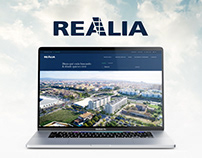 Realia · Real estate Responsive Website