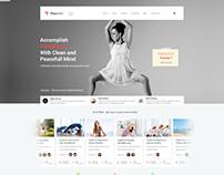 Piourette Dancer Studio Web Design