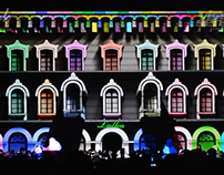 Projection Mapping Cieplice